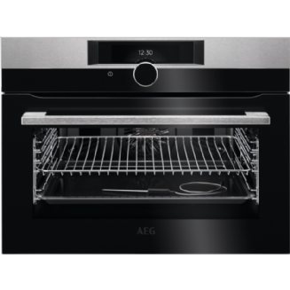 AEG SenseCook - Compact Oven with Pyrolytic Cleaning KPK842220M